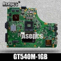 Wholesale Asepcs K53SV Laptop motherboard For Asus K53SM K53SC K53S K53SJ P53SJ A53SJ Test original mainboard GT540M GB