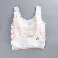 Wholesale underwear for girls 12 for sale - Group buy 5pcs Teen Bra Summer Thin Cotton Soft Brassiere Sport Girl Training Bras Child s Underwear Topic For Girls Tops C1021
