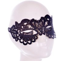 Wholesale sexy couples games for sale - Group buy Black Fancy Masquerade Sexy Toys Violent Games Lace Cutout Party Space Adult Couples For Eye Sex Mask Woman Bghks