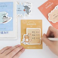 Wholesale cat notes for sale - Group buy 4 Keep Fit Sticky Note Cute Cat Dog Penguin Sporting Memo Pad Diary Stickers Scrapbooking Office School Supplies Fm617 sqcSbz