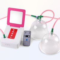 Wholesale remote control care for sale - Group buy small remote control strong suction double cups breast enhancement bust enlarger chest lifting massage suction cups breast care machine