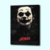 Wholesale joker poster resale online - Joker Modern Wall Art Painting Canvas Poster and Print Art Picture for Living Room