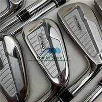 Wholesale 2019 New golf clubs P golf clubs iron set P golf irons Steel Graphite Shaft headcover