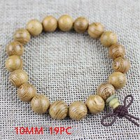 Wholesale chicken wings resale online - Yanqi Chicken Wing Wood Buddhist Prayer Beads Tibetan Mala Buddha Bracelet Rosary Wooden Bangle Women Men Jewelry Pulseira bbyuhT lg2010