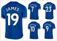 Wholesale thai red shirts resale online - 19 JAMES SIGURDSSON CALVERT LEWIN RICHARLISON Delph Digne Thai Quality Customized Soccer Jerseys Shirts Mix Order Accepted