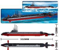 Wholesale sluban toys for sale - Group buy Sluban B0391 Nuclear Submarine Army Navy Warship Diy Model Building Blocks Kids Bricks Toys Christmas Gift jllqvD bdetrade