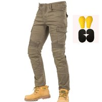 Wholesale komine riding for sale - Group buy New Komine motorcycle pants leisure motorcycle men s cross country outdoor riding jeans with protective equipment knee pads