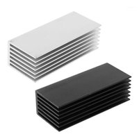 Discount heatsink pads 1Set Aluminum Heatsink Cooling Thermal Pad Cooling Radiator Cooler For NVME M.2 NGFF SSD Solid State Hard Drive Disk1