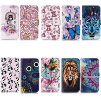 Wholesale cartoon samsung cases online – custom Leather Wallet Case For Samsung Note Note10 Plus Pro Iphone New Cartoon Embossed Lion Tiger Luxury Flower Owl Holder