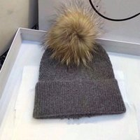 Wholesale original winter hats resale online - 2020 hot sale original single men s and women s thick and warm all match high end atmosphere winter hat and scarf