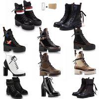 Wholesale high heel sneakers resale online - Top Womens High Heels Girl Martins Desert Boots Flamingos Love Platform Real Genuine Leather Party Wedding Sneaker Size US5 CM CM