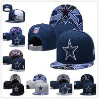 Wholesale american football snapback hats for sale - Group buy New Brand designing team Cap Football Caps Snapback Peaked Flat BrimCotton Bone European American Fashion hat