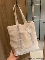 Wholesale feel well for sale - Group buy Luxury Shoulder Bag Women s Lamb Hair Large Capacity Portable Well Matched High Quality Felt Designer Handbag Fashion Bags