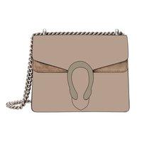 Wholesale crossbody vintage bag resale online - Snake Vintage Brown Leather Women Shoulder Crossbody Bags New Fashion Designer Chain Shoulder Bag Women Handbag