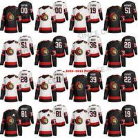 Wholesale hockey 5xl for sale - Group buy Custom Ottawa Senator S XL Thomas Chabot Brady Tkachuk Daniel Alfredsson Alexei Yashin Dominik Hasek Anisimov Duclair Hockey Jersey