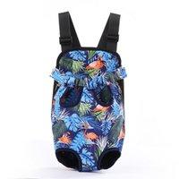 Wholesale designer backpacks resale online - Outdoor Travel Canvas Pet Puppy Dog Cat Chest Carrier Backpack Front Shoulder Bag Tote Sling Comfortable Carrier FWE2559