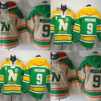 Wholesale north stars hockey for sale - Group buy 2016 New Retail Factory Price New Old Time Hockey Minnesota North Stars Mike Modano Fleece Ice Hoodie Jerseys Embroidery Logos