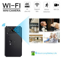 Wholesale hiding cameras for home resale online - Mini Camera K WIFI HD P IP camera Wireless Security Baby Monitor Camcorder Infrared Night Vision for hidden TF Smart Home