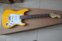 Wholesale electric guitar s for sale - Group buy New yellow Stratocaster string white Electric Guitar S S S noise reduction pick up