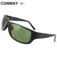 Wholesale wrap around glasses frames for sale - Group buy Conway Wrap Around Sunglasses Men Lifestyle Sport Glasses Unbreakable Acetate Frame Ideal for Running Golf Driving Finshing