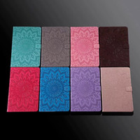 Wholesale 7.9 tablet cases for sale - Group buy Sun Flower Embossing Tablet Case for iPad Pro Air Mini quot quot quot quot and Samsung T830 T590 T580 T560 T550 T387 T380