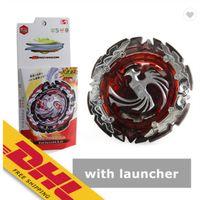 Wholesale BayBlade Burst Set B131 Battling Top Spinning Top Metal Fusion Starter Box Battle Set with Launcher B Toys for Kids