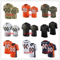 Wholesale customized football jerseys resale online - Customized Denver Broncos MEN WOMEN YOUTH Nfl Limited Home Jersey Football Vapor Untouchable embroidery S XL