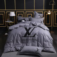 Wholesale bedding sets king for sale - Group buy Brand cotton Bedding Sets designer Bed Linens Sets twin size Queen california King Duvet Cover Flat sheet Pillowcases