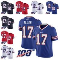 Wholesale jim kelly jerseys resale online - Buffalo Bills Men Jim Kelly Josh Allen Women Youth NFL Limited Inverted Legend th Season Jersey