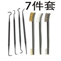 Piece Cleaning Hook Steel Wire Pcs Nylon Crochet Gun Brush Hunting Type