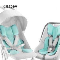 Wholesale travel mattress baby resale online - OLOEY Baby Summer Cool Pad Stroller Kid Seat Accessories Breathable D Cushion Mat Newborn Infant Travel Car Pram Chair Mattress
