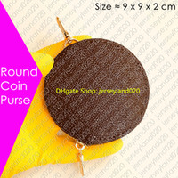 Removable ROUND COIN PURSE of the Multi-Pochette Accessoires Designer Fashion Womens Key Pouch Card Holder Cles Mini Zipped Organizer Wallet