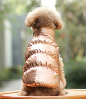 Wholesale dogs hats for sale - Group buy Winter Pet Clothes Windproof Dog Vest Down Jacket Padded Puppy Small Dogs Clothes Warm Chihuahua Outfit Vest Yorkie Apparel Pet Supplies