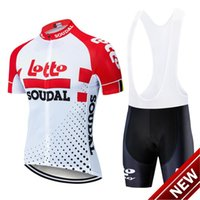 Wholesale lotto men cycling jersey for sale - Group buy 2021 Lotto Short Sleeve Cycling Jersey Pants Suit Men S Summer Mtb Pro Bicycling Shirts Maillot Culotte Wear d Pad