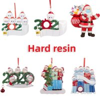 Free shipping personalized christmas ornaments 2020 quarantine ornaments christmas tree decoration Delivery within 72 hours chat with me