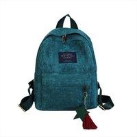 Wholesale backpacks for womens resale online - Backpack Womens Canvas Tassel School Bags Travel Backpack Bag Rucksack Bag For Teenage Girls School Bagpack Mochila T2G