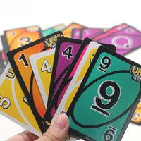 Wholesale uno game playing cards resale online - Family Funny Entertainment Board Games for Adults Cards Mattel Games UNO Classic Games Fun Poker Playing Cards Dropshopping