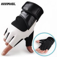 Wholesale brown leather cycling gloves for sale - Group buy Winter Tactical Full Finger Gloves Outdoor Shooting Mens Leather Boxing Mittens Military Cycling Motorcross Biker Combat G549
