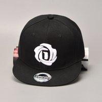 Wholesale new derrick rose for sale - Group buy New American Derrick Rose Baseball Cap Men Snapback Hip Hop Cap Black Red Hat Lovers SportsX1016