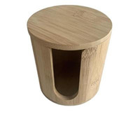 Hot sale Bamboo and wood cylinder, tea barrel, cylinder, wooden chimney, pen holder, paper extractor, wooden