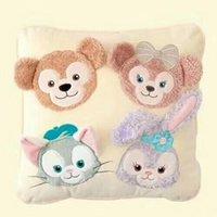 Wholesale cute plush bear pillow resale online - Cartoon Japan Cute Duffy Bear Stellalou Shelliemay Gelatoni Plush Pillow Cushion for Children Christmas Present