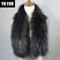 Wholesale real fur wraps scarves for sale - Group buy Hot Sale Style Luxurious Quality Women Real Fur Scarf Warm Soft Knitted Real Fur Shawl Wrap Natural Ring Scarves