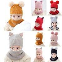 Wholesale winter monkey cap for sale - Group buy New Baby Toddler Winter Warm Monkey Beanie Hat Earflap Knitted Girl Boy Kids Children s ear knit Cap