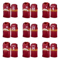 Wholesale gold nuggets for sale - Group buy Men Denver Nuggets Jamal Murray Nikola Jokic Paul Millsap Gary Harris Any player hot pressing custom basketball jerseys
