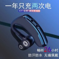 Wholesale oppo bluetooth headset resale online - Wireless Bluetooth Headset Ultra Long Standby Business Sports for Xiaomi Oppo Huawei Vivo Android Apple iPhone Universal Running Earplugs Ta