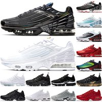 Wholesale snow fall lighting for sale - Group buy tn Plus Running Shoes Men Women Mens Trainers Triple Black White Red Gold DMP Worldwide Metallic Athletic Sports Sneakers Size