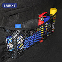 Wholesale car trunk net for sale - Group buy Mesh In Trunk Organizer Car Trunk Net Nylon Auto Cargo Storage Mesh Organizer In For SUV Cars Luggage Nets Travel Pocket