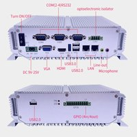Wholesale Industrial Computer with intel celeron j1900 CPU Gb ram Gb Rom LAN RS485 Fanless Mini PC