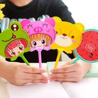 Wholesale korea ballpoint pen resale online - 1PCS Peculiar Shape Multicolor Korea Stationery Cute Cartoon Creative Animal Fruit Ballpoint Pens Kids Gift School Supplies Pens