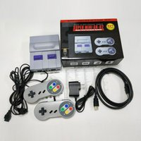 Wholesale gaming videos resale online - HDTV P Out TV Game Console Video Handheld Games For SFC NES Games Consoles Hot Sale Children Family Gaming Machineree DHL Shipping